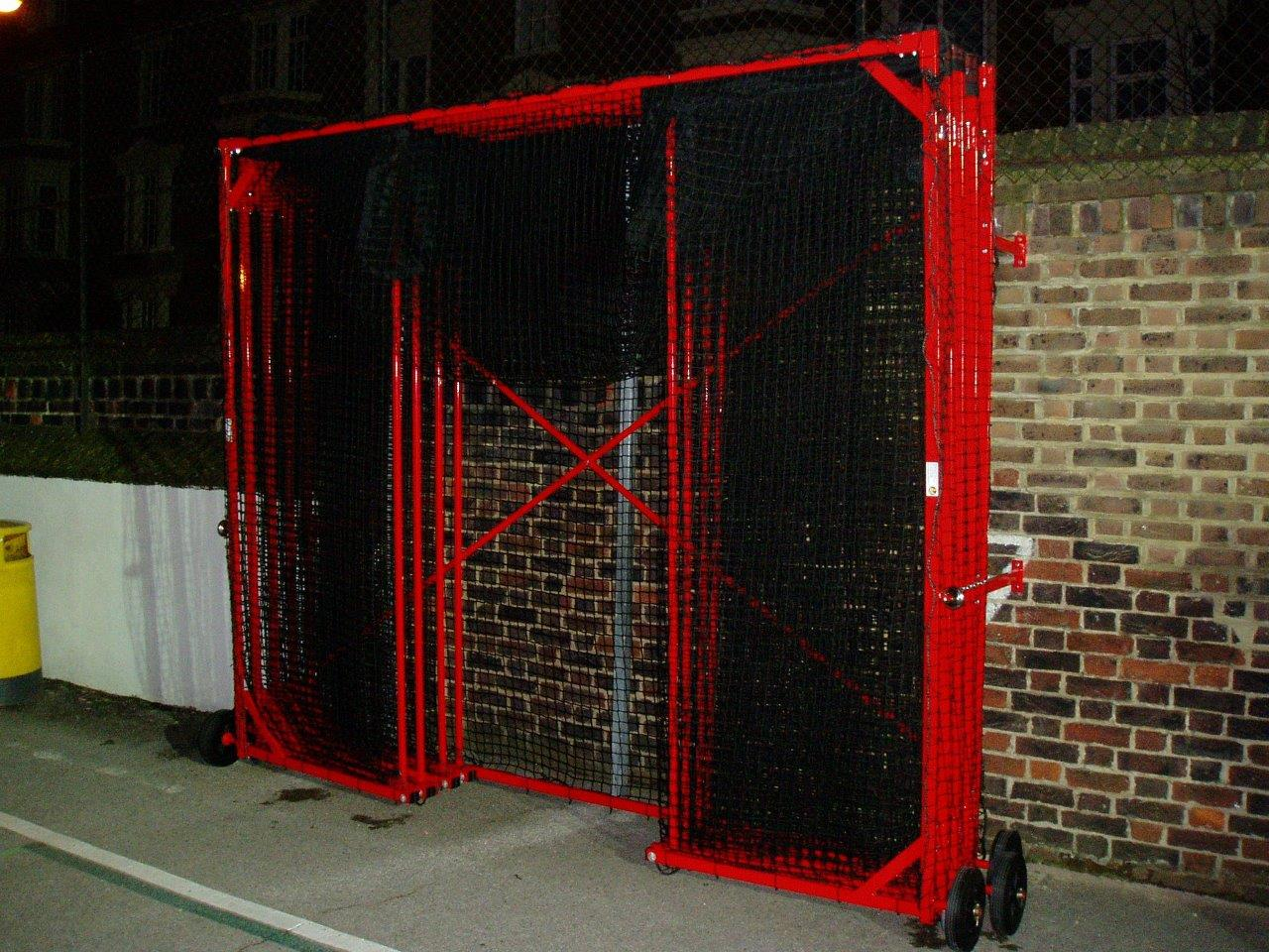 Concertina 8m Mobile Cricket Cage