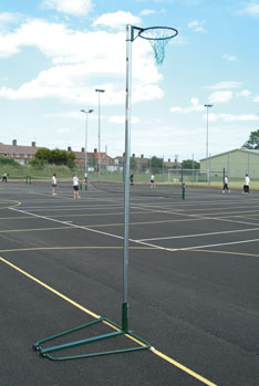 NB1AR Regulation Netball Posts