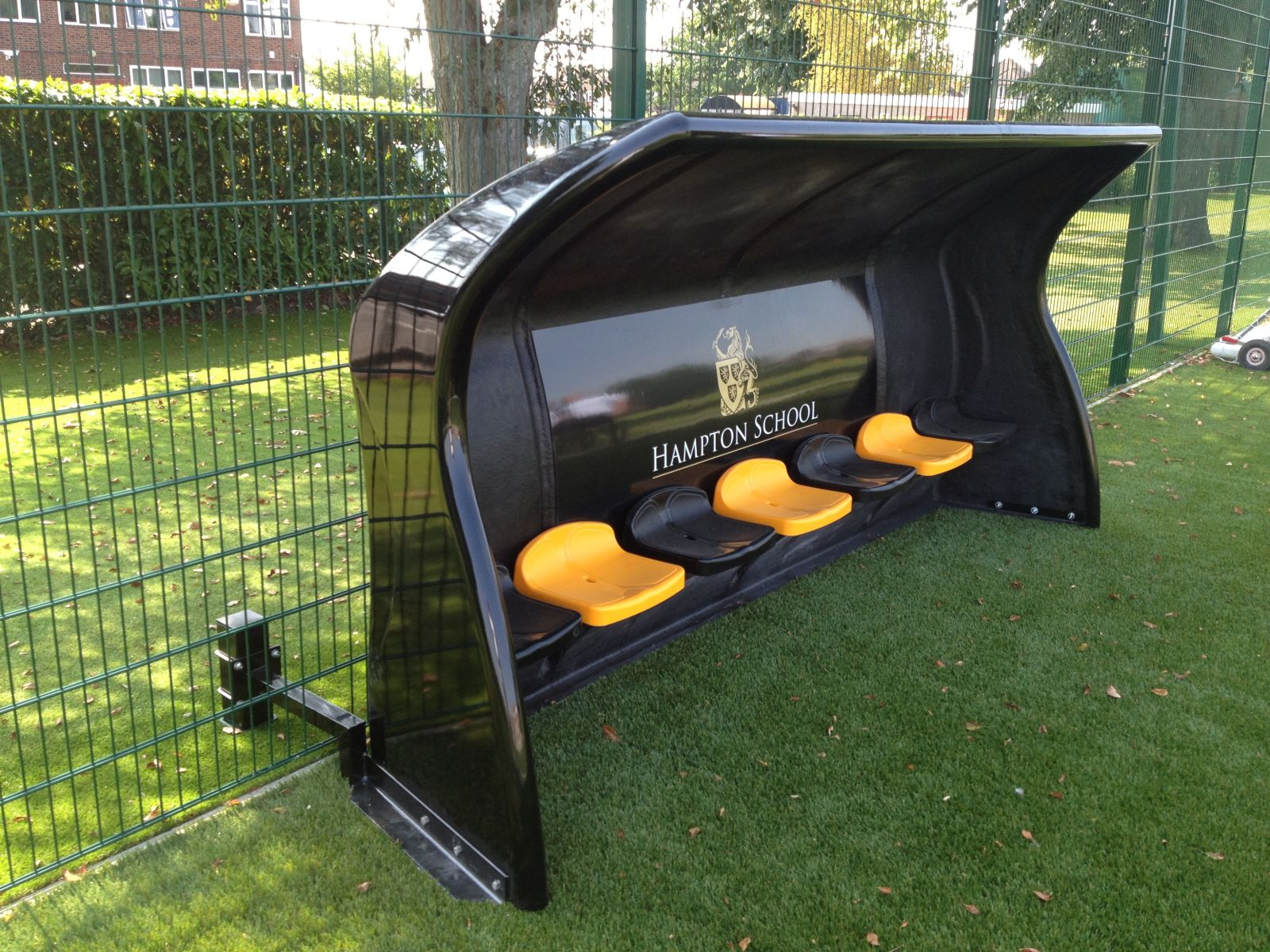 Bespoke Fibretech Team Shelter - 5m - Team Colours