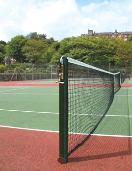 S1 76mm Round Tennis Posts