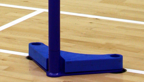 Floor fixed base for VB4/VB1 uprights