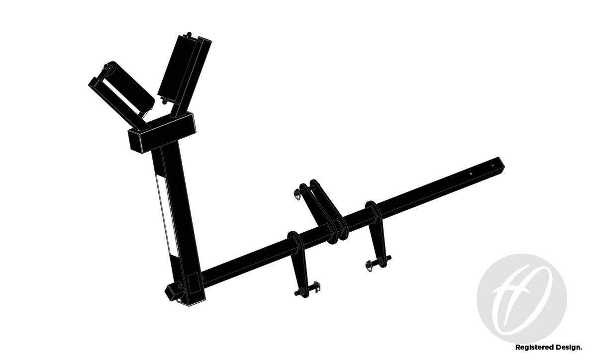 HINGED RUGBY POST LIFTER